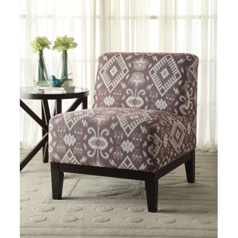 Purple Accent Chair