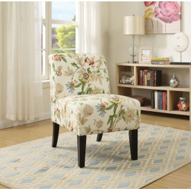 Flower Accent Chair