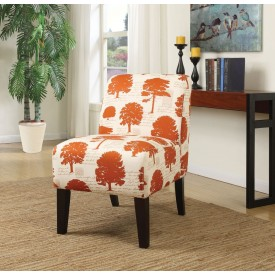 Orange Tree Accent Chair