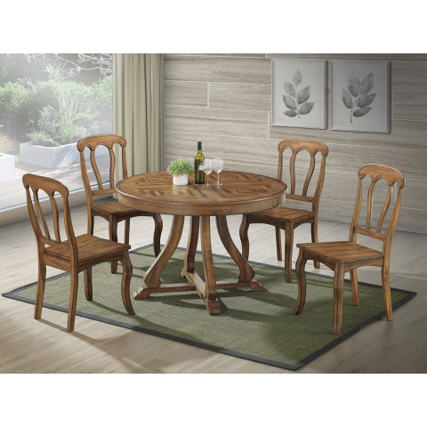 Gia 7pc Round Dining Set