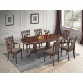 Violet 7pc Oval Dining Set