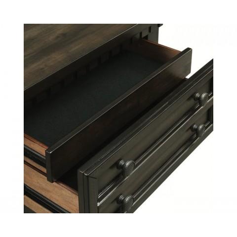 McCabe Queen 4pc Storage Bedroom (QB, NS, Dresser, Mirror)