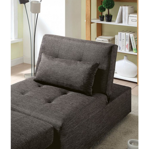 Chair Futon Bed Single Convertible Fabric