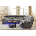Anderson Sectional Sofa (3 Powered Recliners)