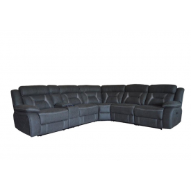 Anderson Sectional Sofa with 3 Powered Recliners & LEDs