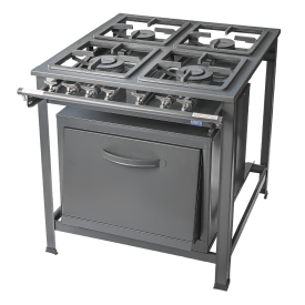 Stove Tron 4 Burner With Oven & Grill
