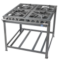 Stove Tron 4 Burner 16x16 Double Burners
