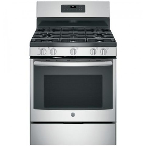 "GE 30"" 5 Burner Gas Range"